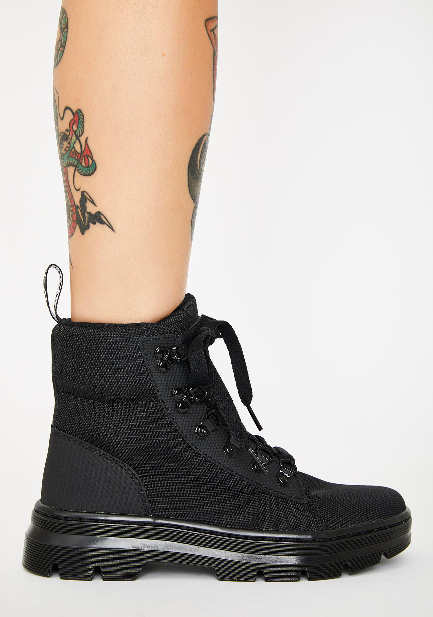 Dr. Martens Women's Combs Combat Boots
