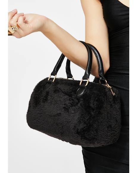 Prove To You Furry Handbag
