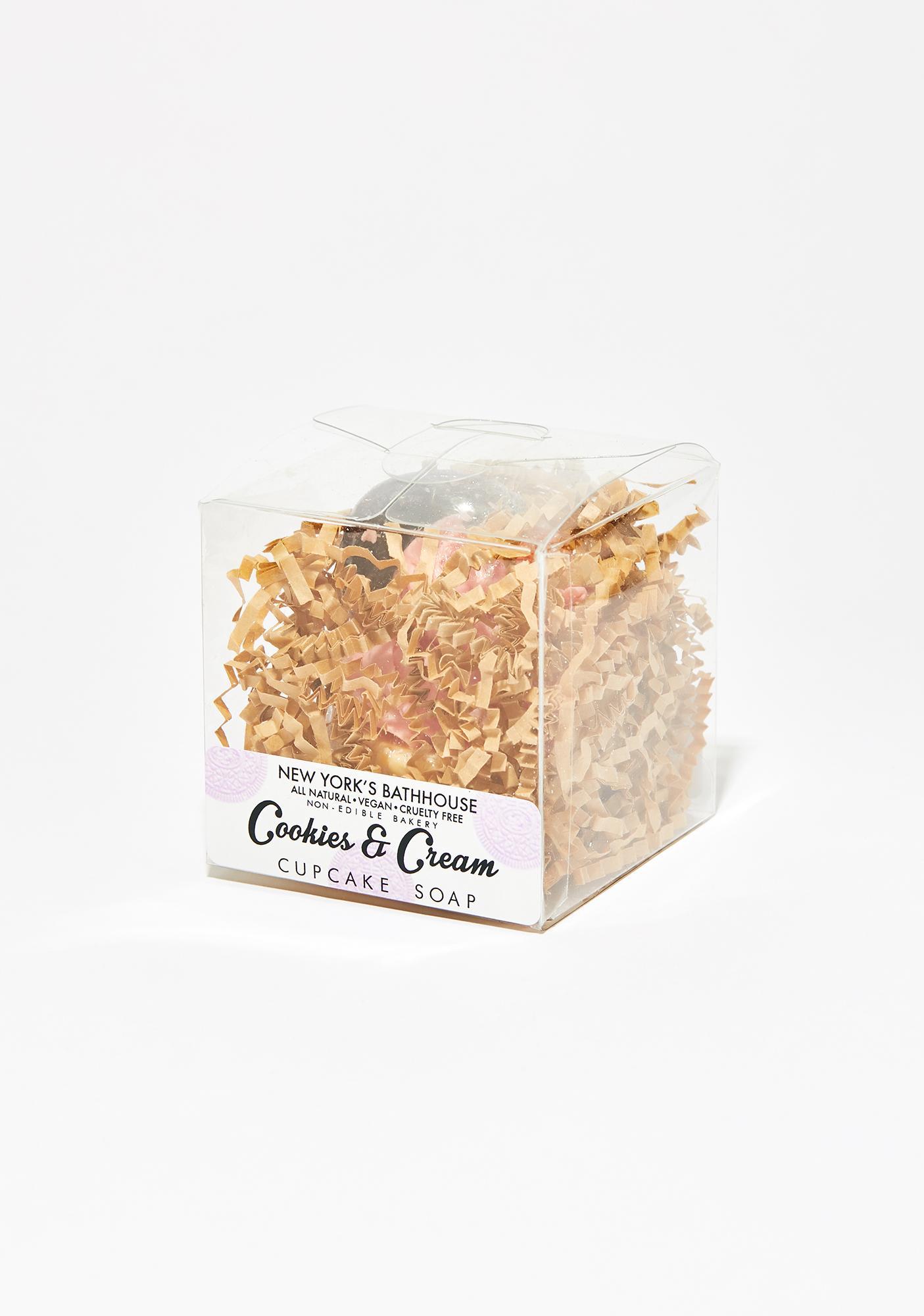 New York's Bathhouse  Cookies and Cream Cupcake Soap