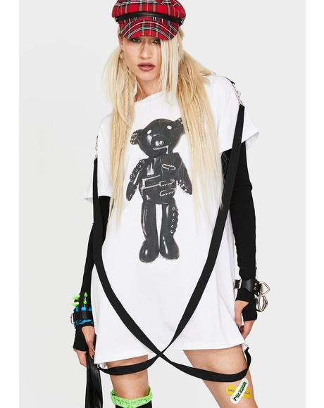 Tormented Teddy Graphic Tee