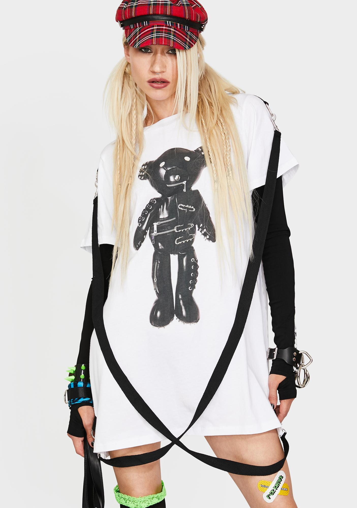 Current Mood Tormented Teddy Graphic Tee