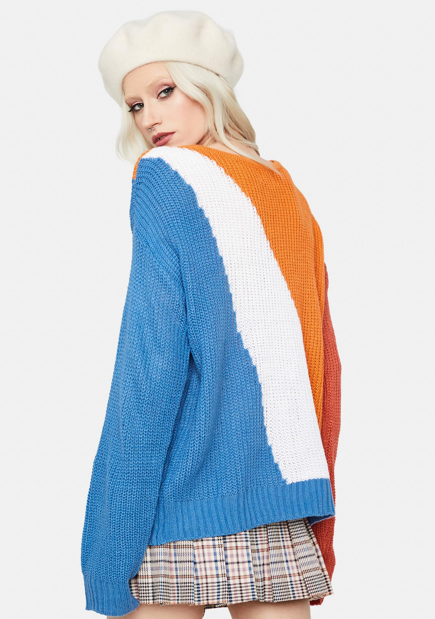 Since I Met You Color Block Cardigan