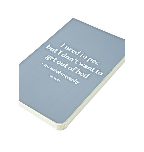 Jac Vanek The Potty Mini-Notebook