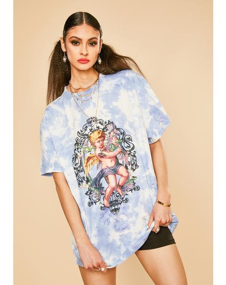 Not So Saintly Graphic Tee