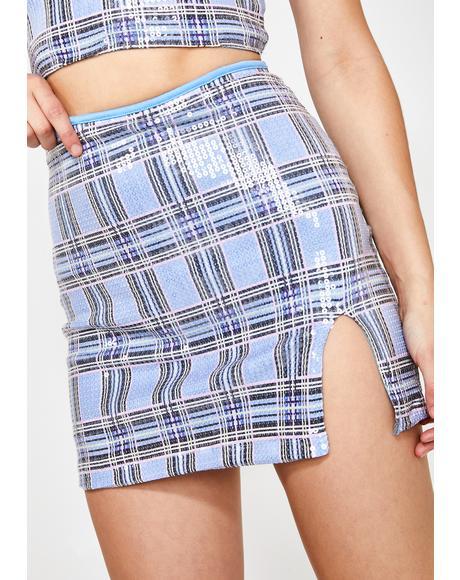 Sky Dina Skirt