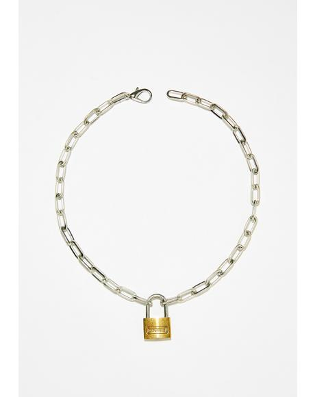 Lock Up Chain Choker