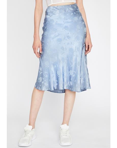 Sway With Me Midi Skirt
