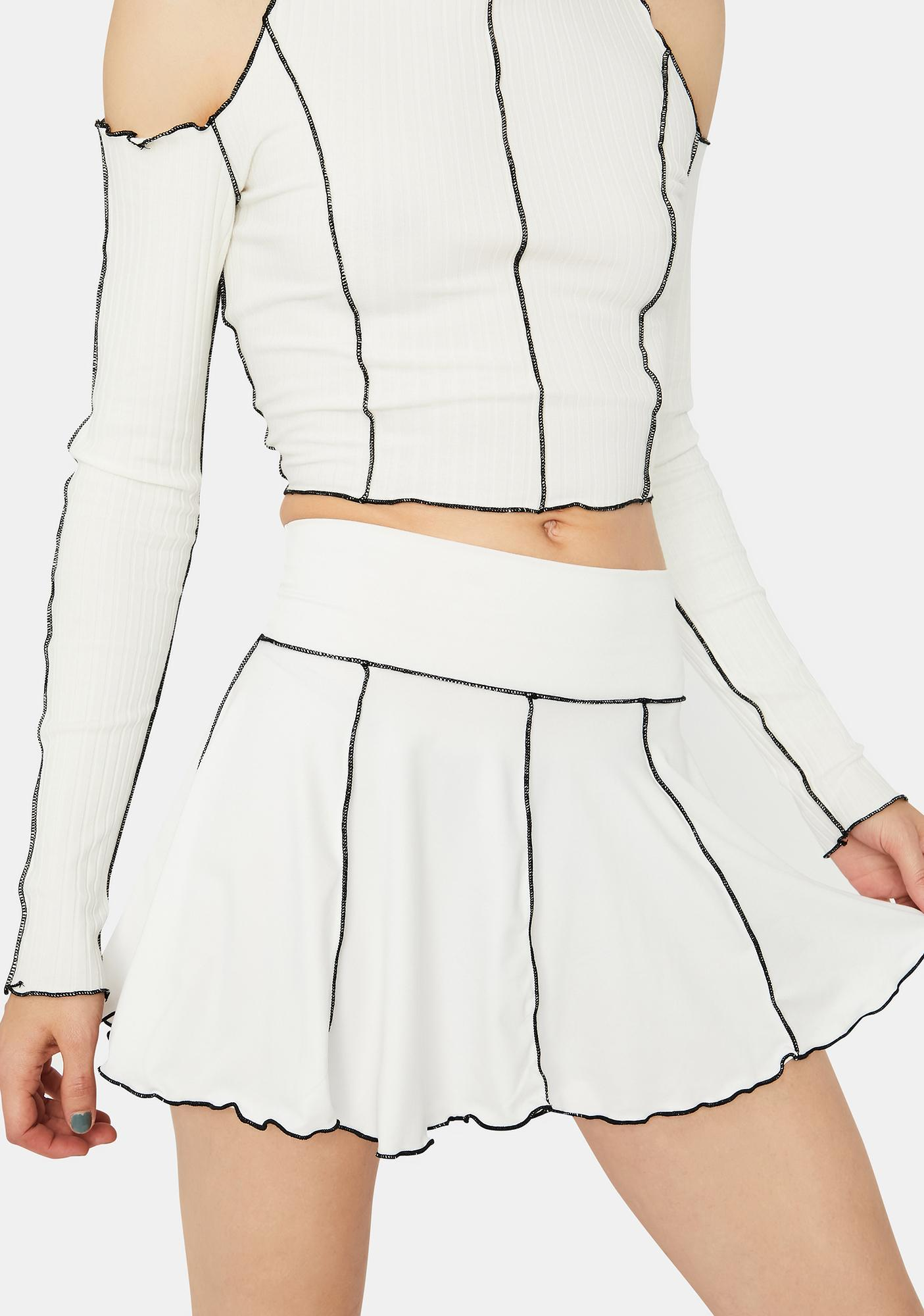 Pure Enter The Vortex Mini Skirt