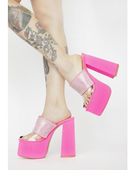 Be A Dear Platform Heels