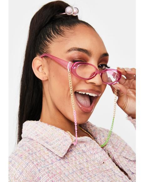 Rainbow Love Sunglasses Chain
