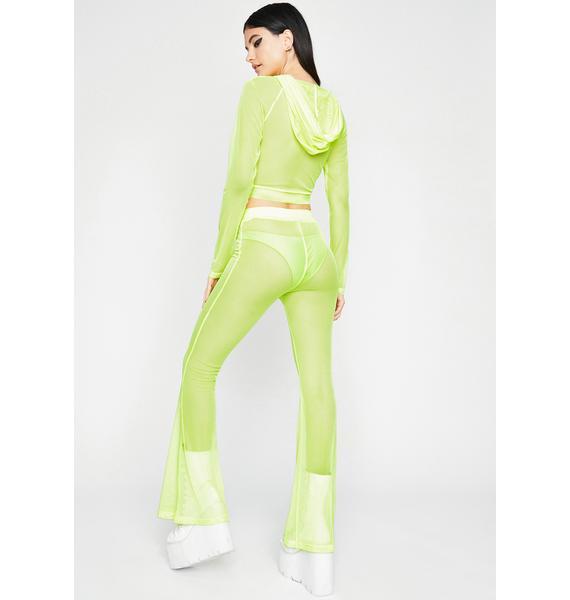 Atomic Sheer Mystery Pant Set