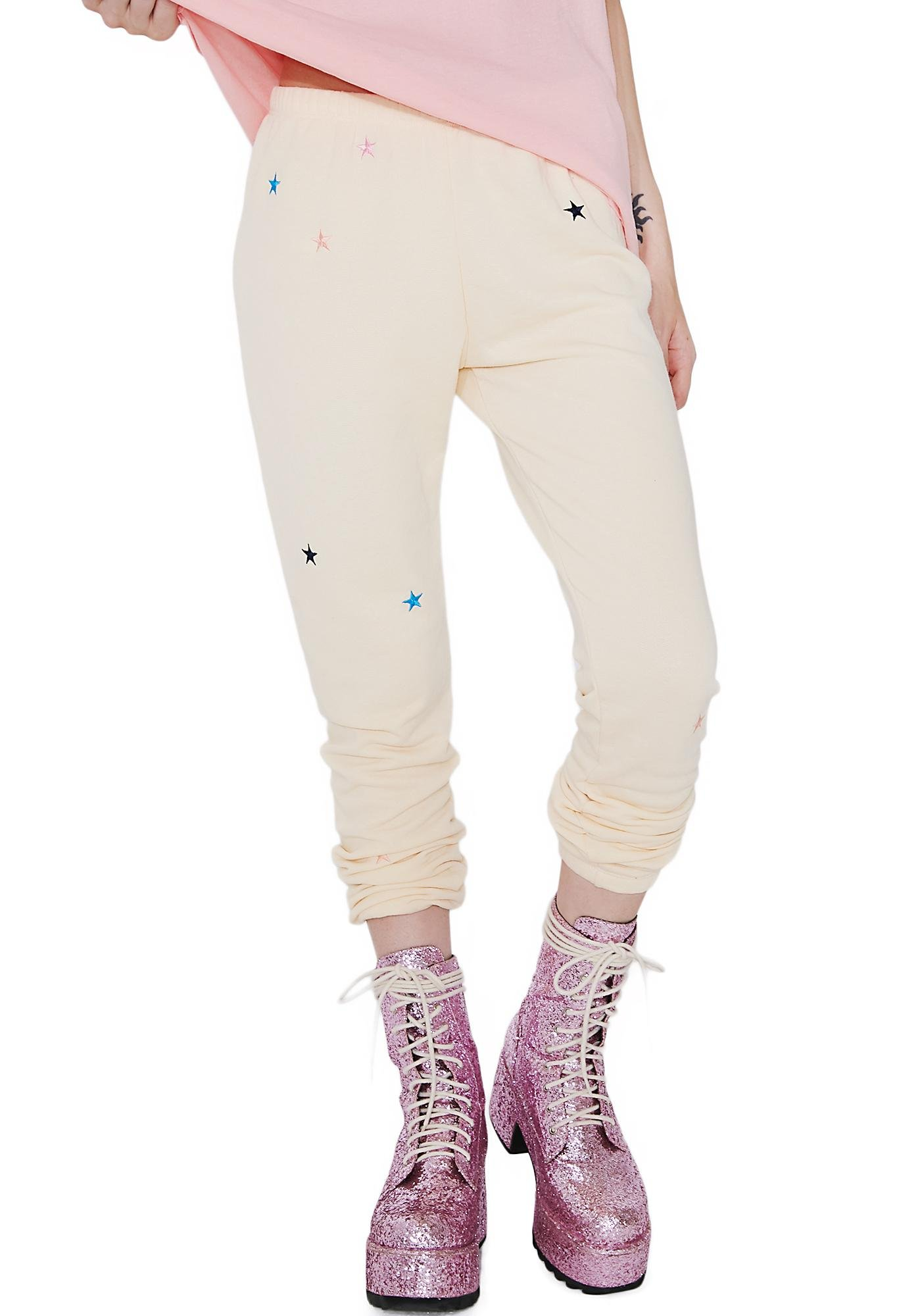 Wildfox Couture Starlet Embroidery Knox Pants