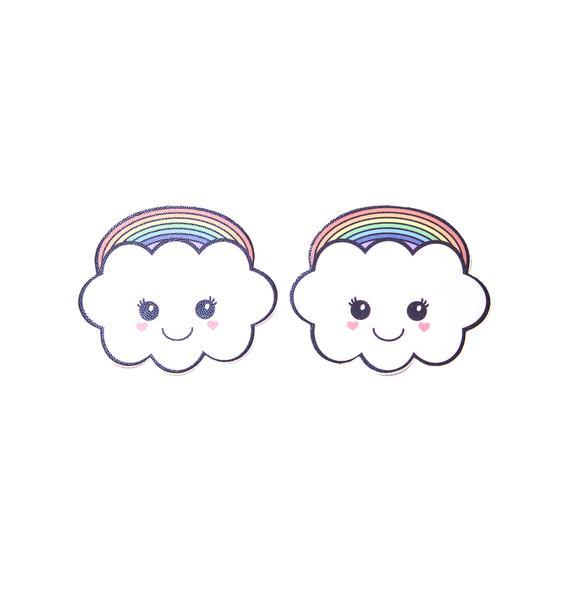 Pastease Rainbow Kawaii Cloud Pasties