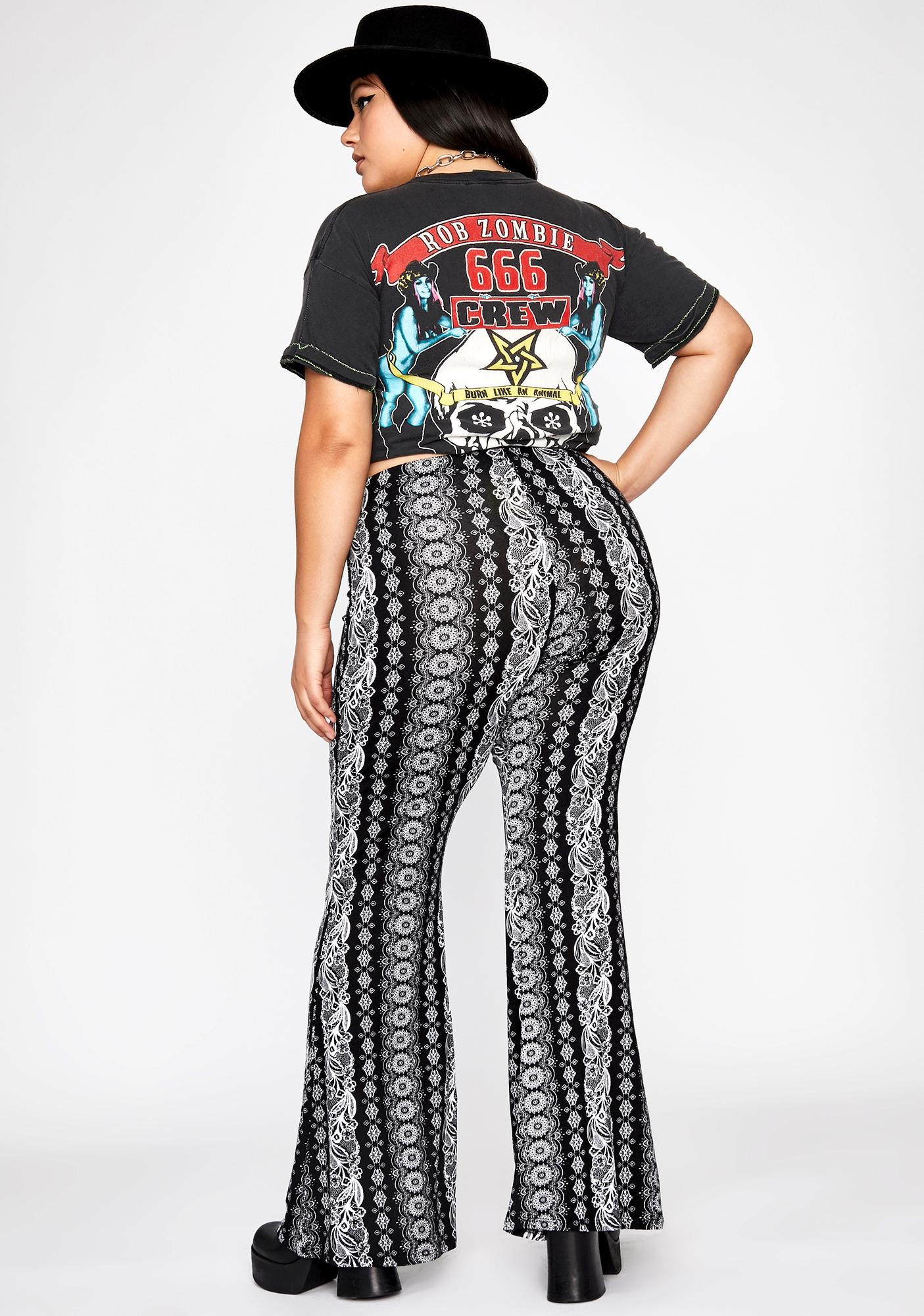 Lux Midnight Haze Paisley Pants