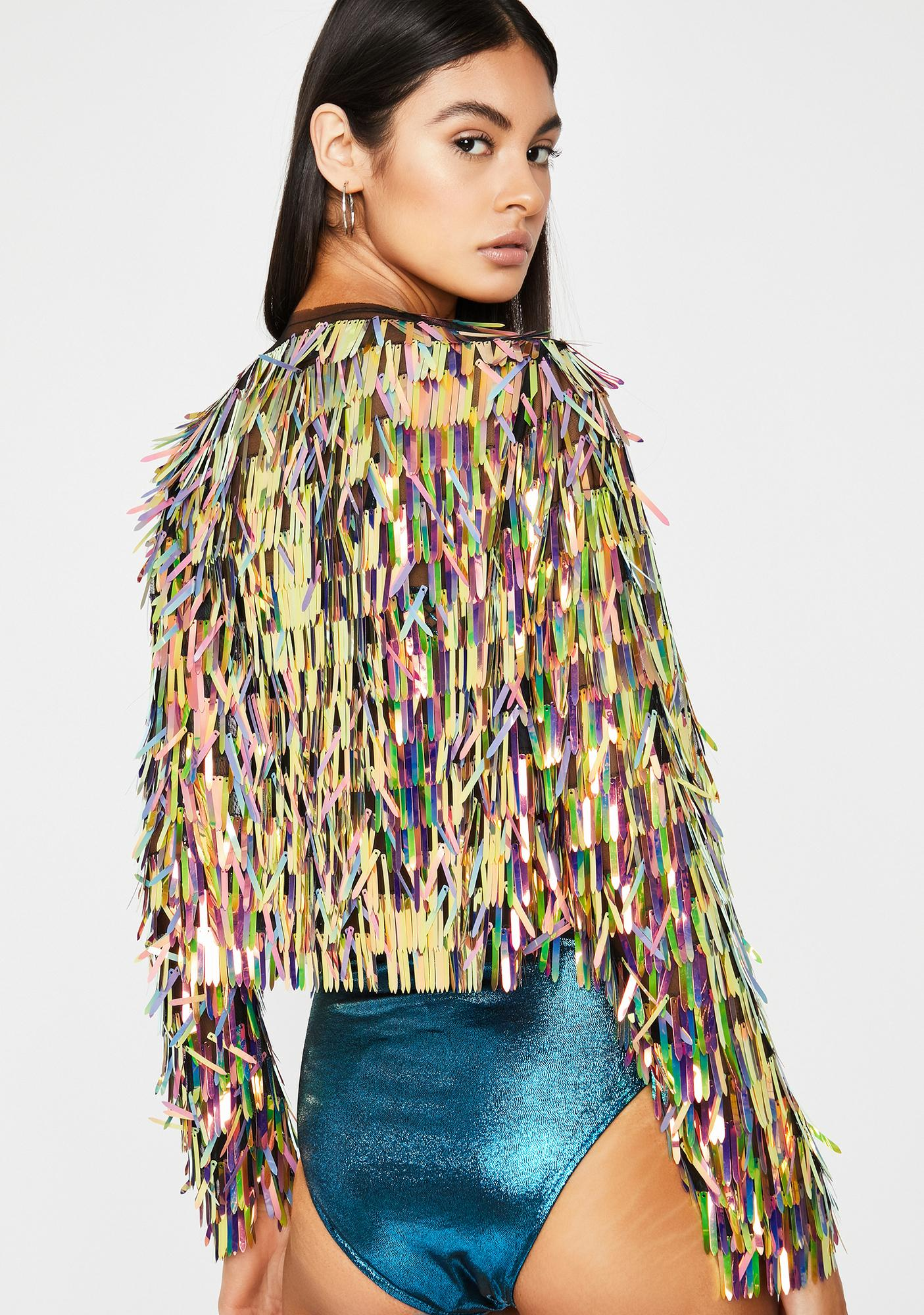 Show Goes On Sequin Jacket