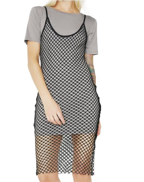 Love 'Em & Leave 'Em Tee Dress