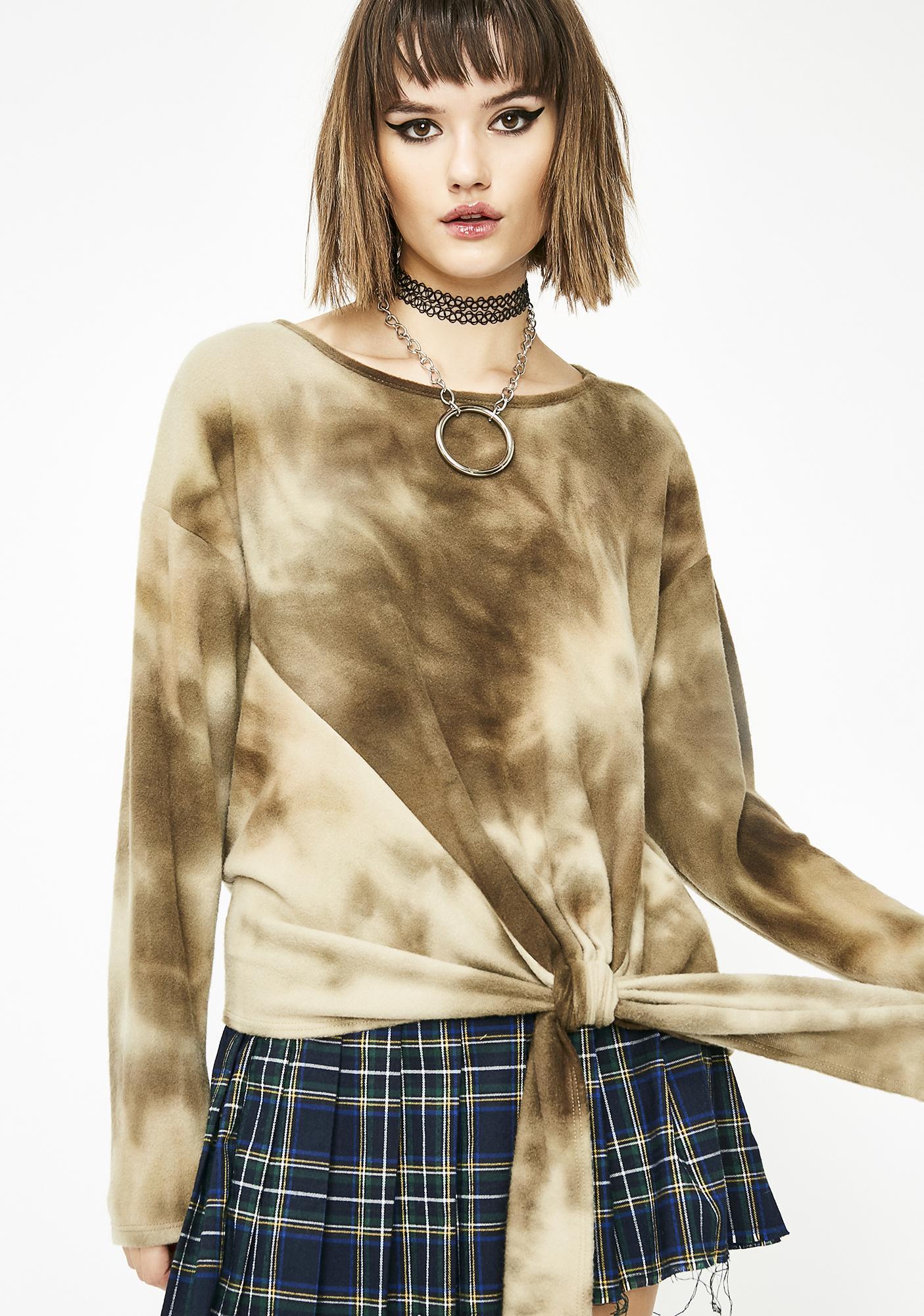 Kush Pure Energy Tie Dye Sweater