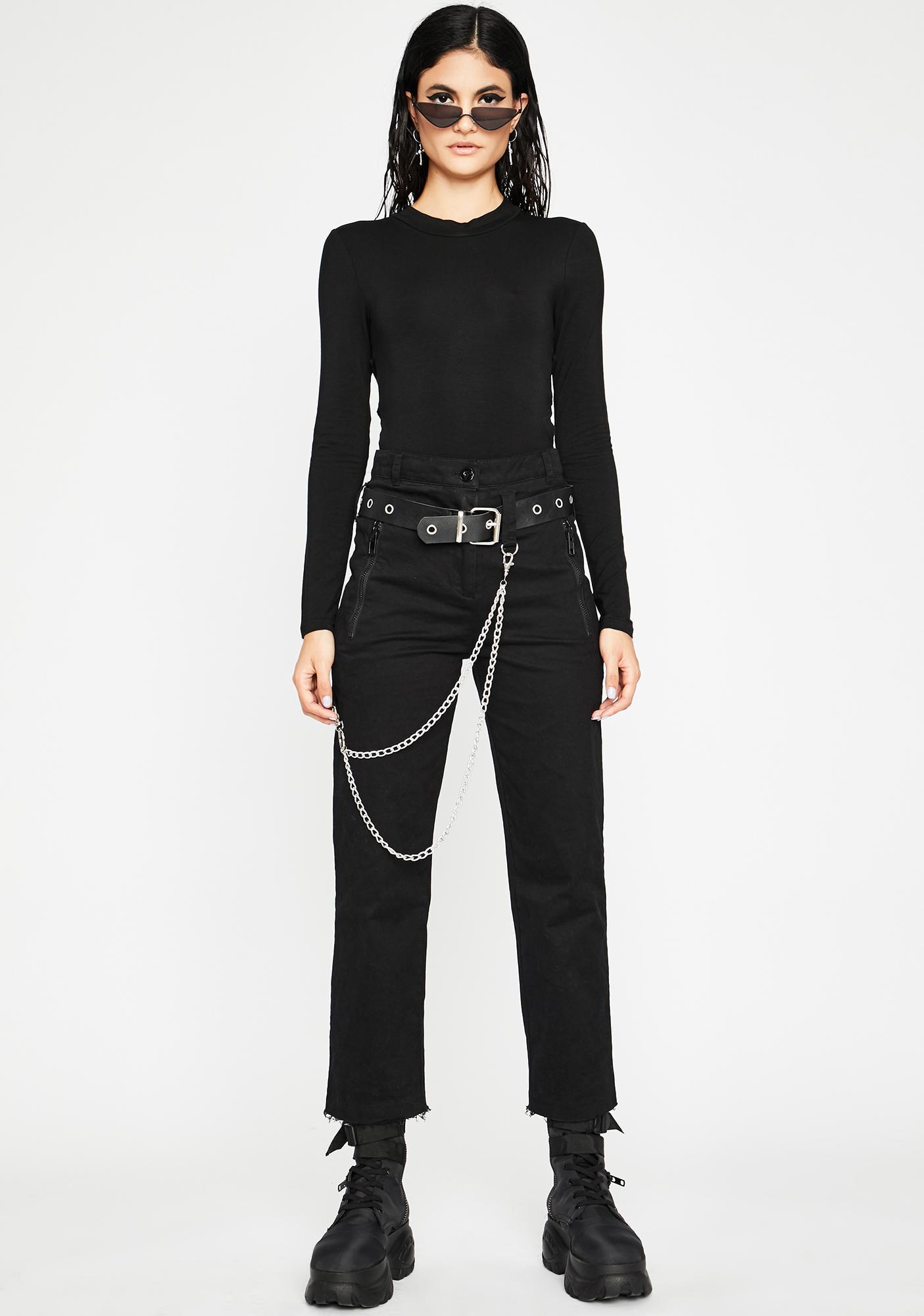 Backlash Long Sleeve Bodysuit