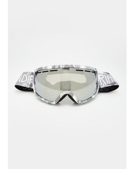 Snow Camo Goggles