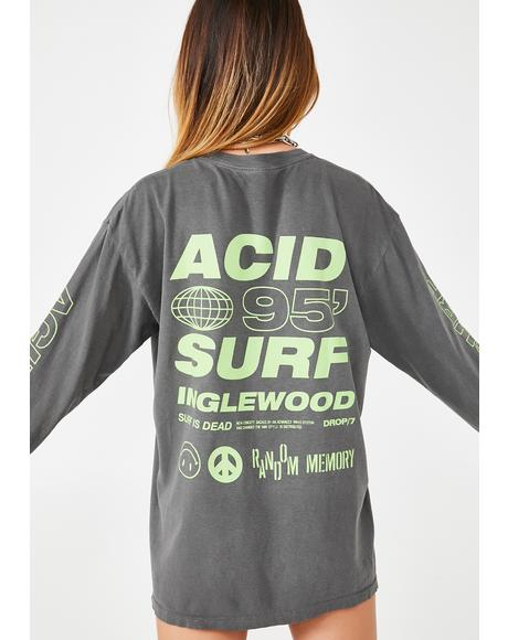 Acid Surf Long Sleeve Tee