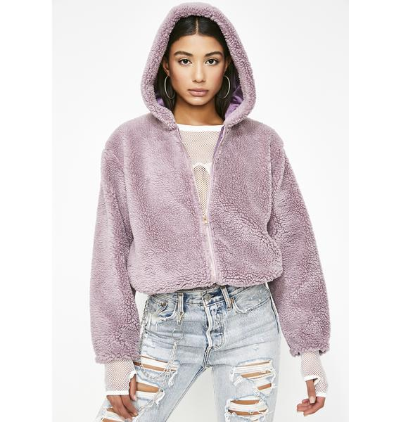 The Finer Thingz Fuzzy Jacket