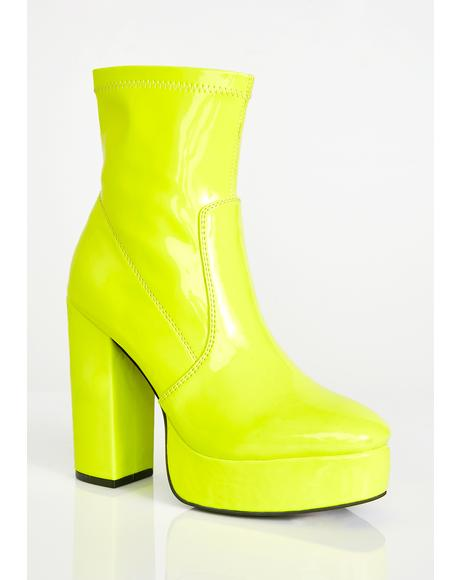Full Force Platform Booties