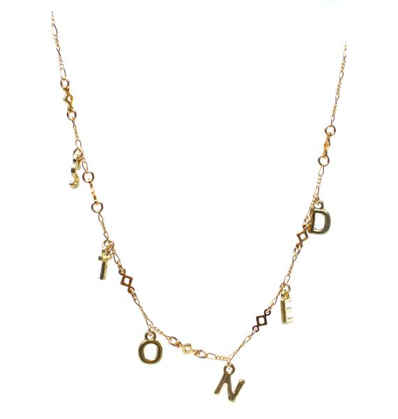 Fraiser Sterling Stoned Necklace