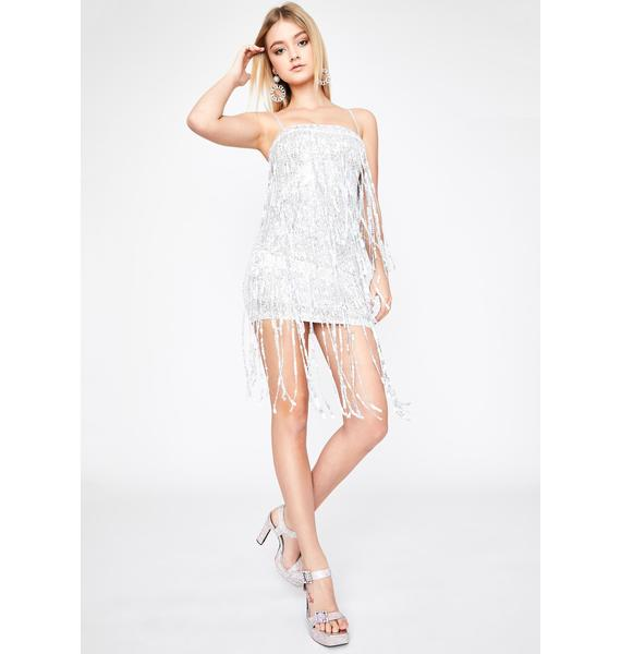 American Dream Fringe Dress