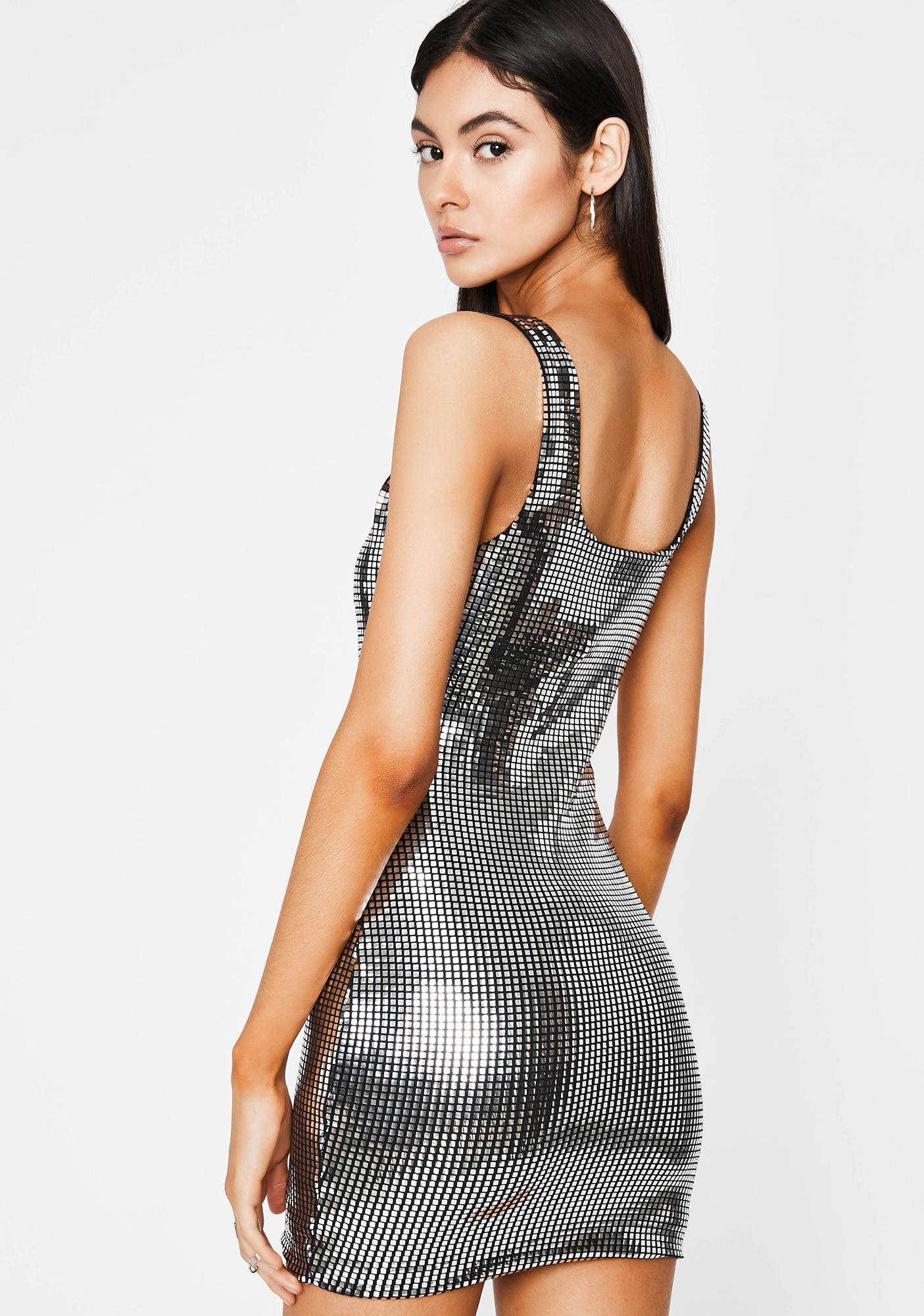 Stay Shinin' Sequin Dress