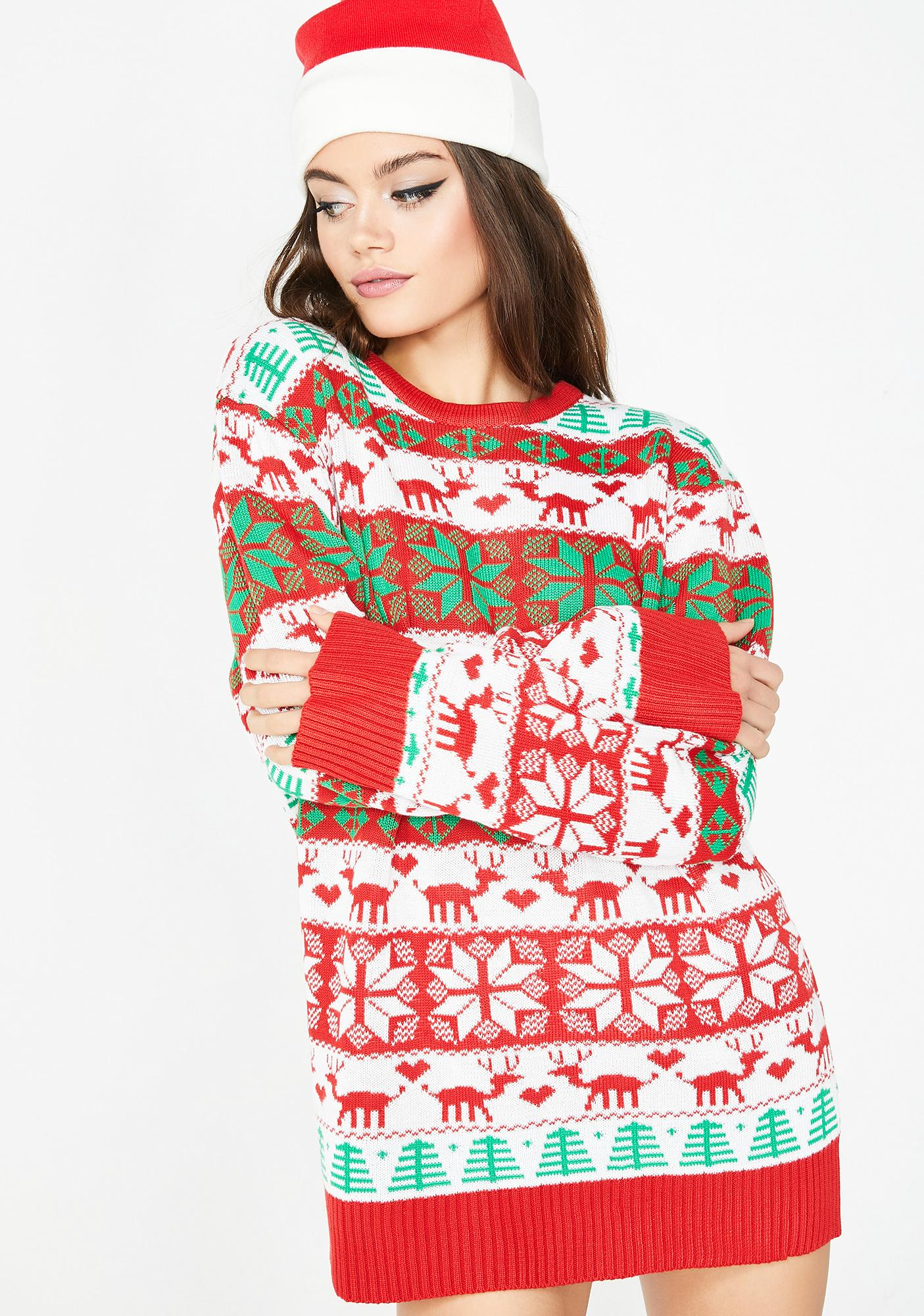 Walkin' In A Wacky Wonderland Sweater
