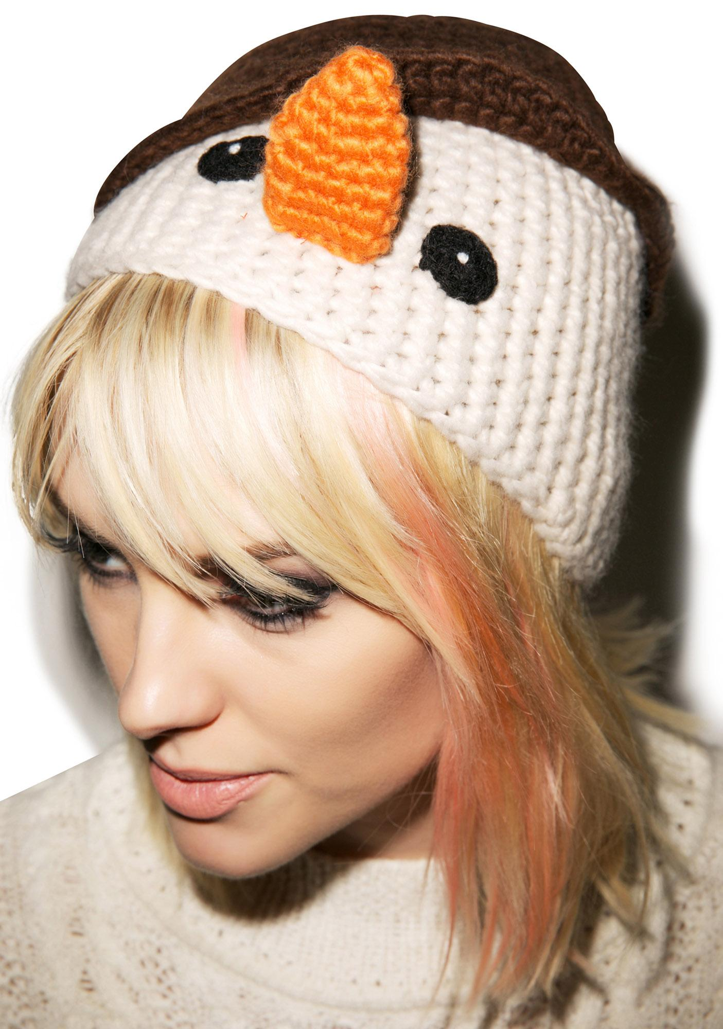 Do U Want To Build A Snowman Hat