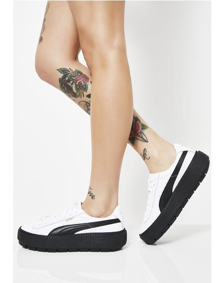 Platform Trace Sneakers