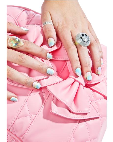 X NCLA Tie Dye Nail Wraps