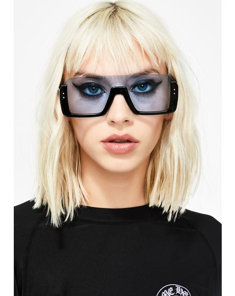Royal Cut Off Oversized Sunglasses