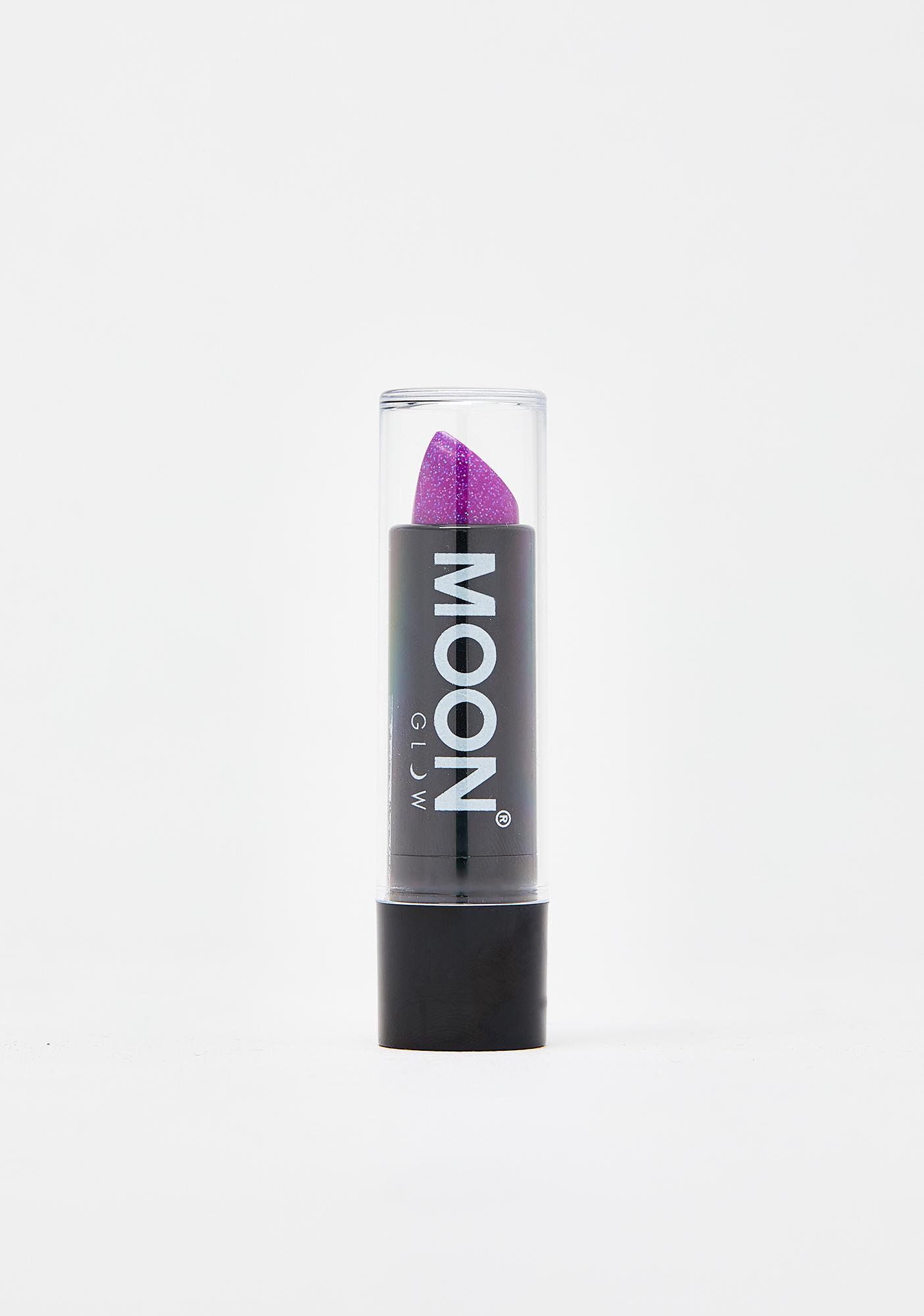 Moon Creations Purple Holographic Glitter Lipstick