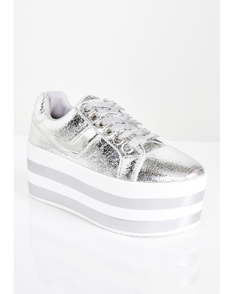 Step To Me Platform Sneakers