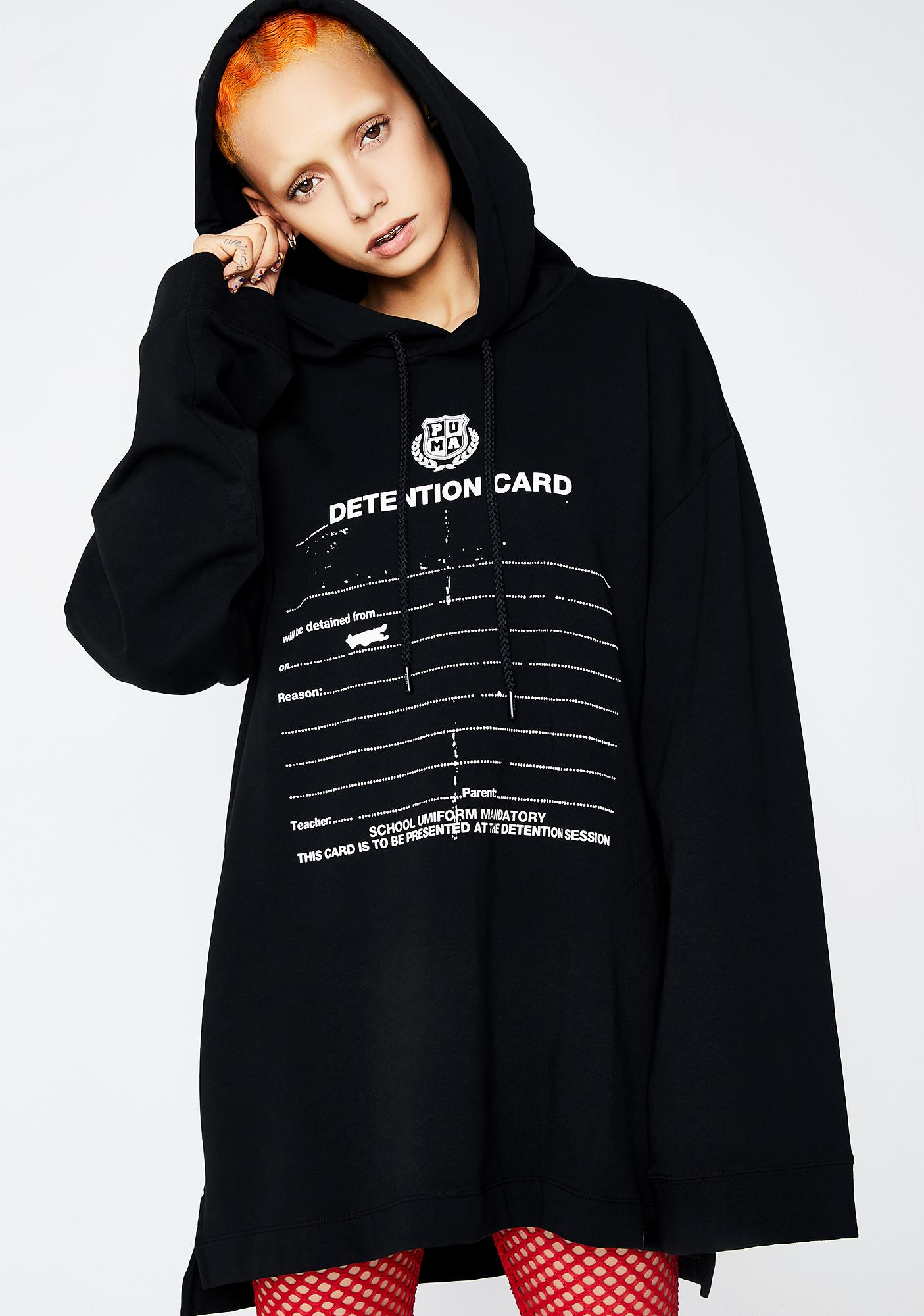 online retailer c7cc7 91787 FENTY PUMA BY Rihanna Long Sleeve Graphic Hoodie