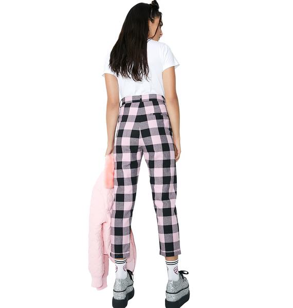 Lazy Oaf Checkers Trousers