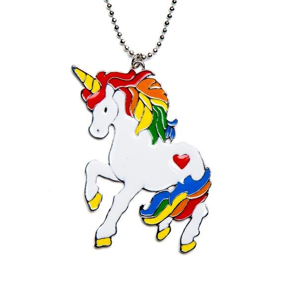 Unicorn Playdate Necklace