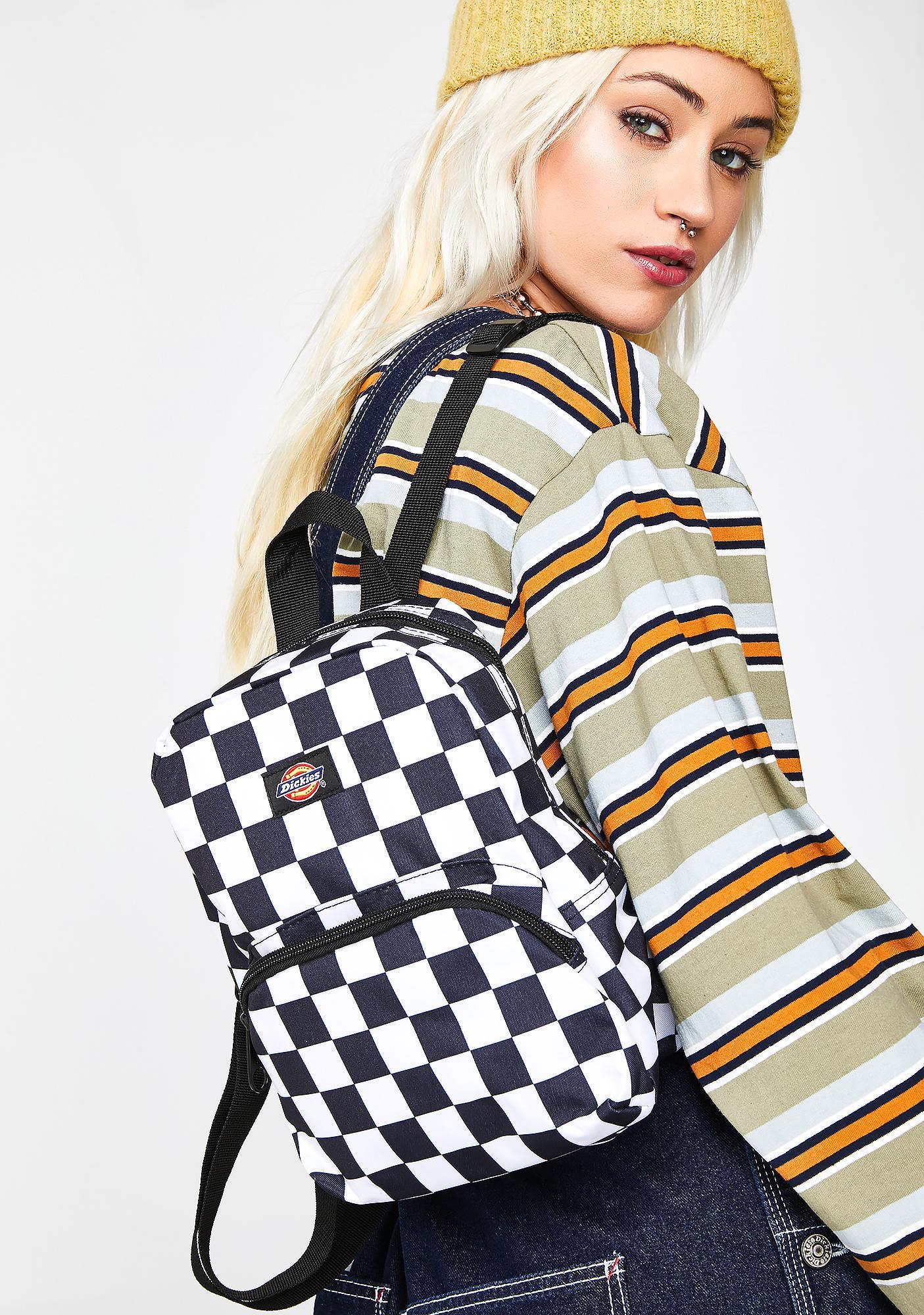 Dickies Checkerboard Mini Backpack