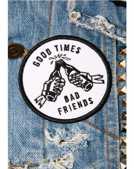 Good Times Iron-On Patch