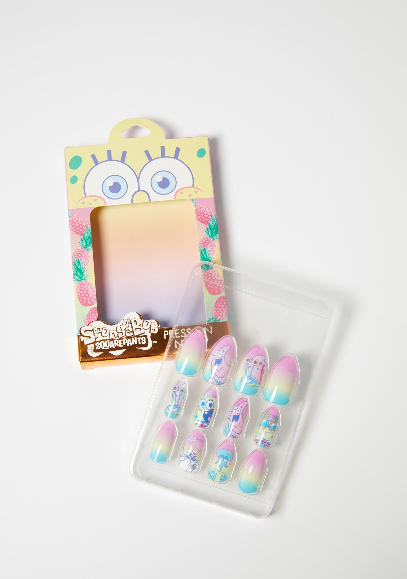 Taste Beauty Spongebob Press On Nails