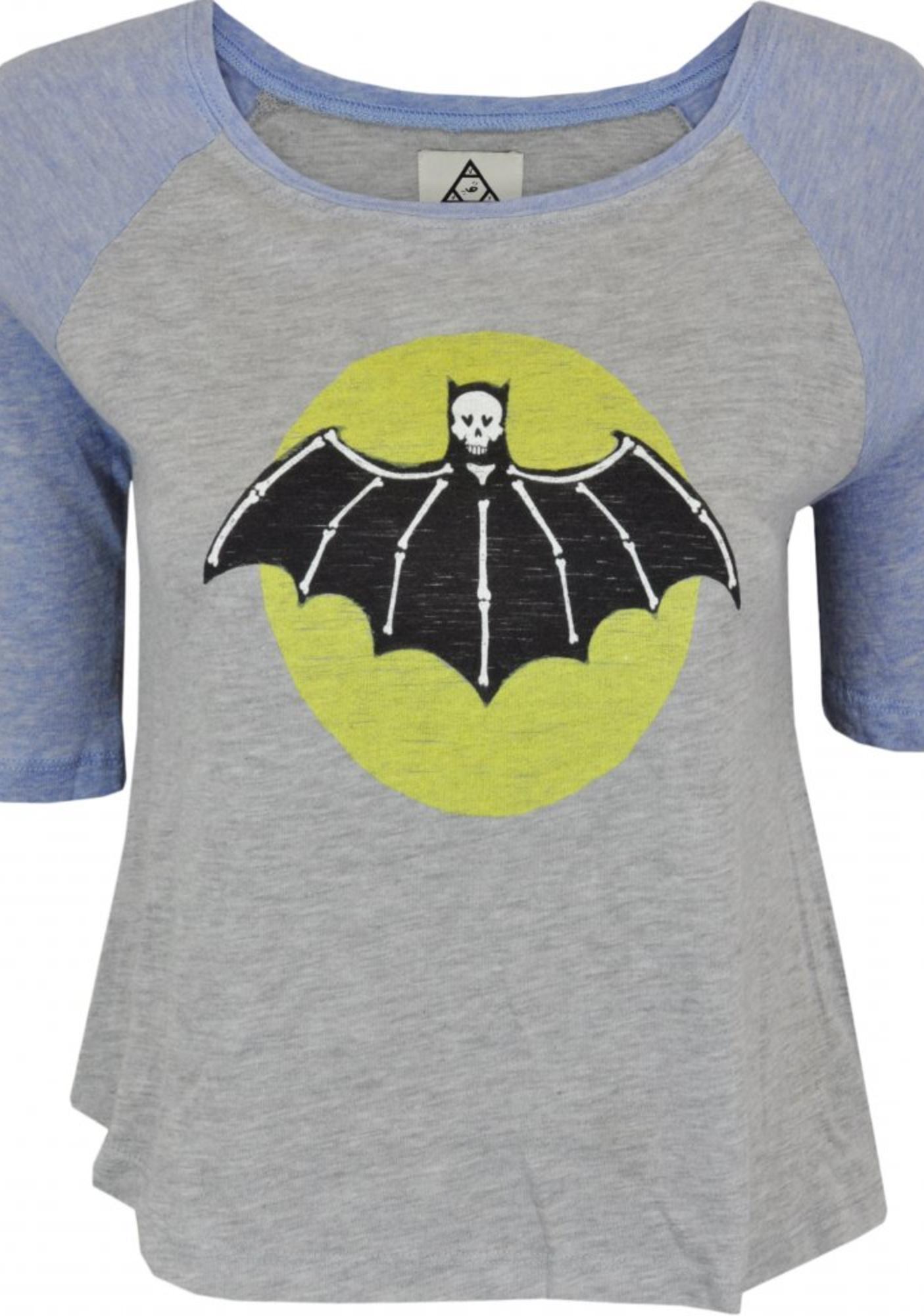 UNIF Bat Skull Tee