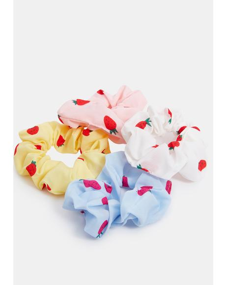 Sweet Bite Scrunchies Set
