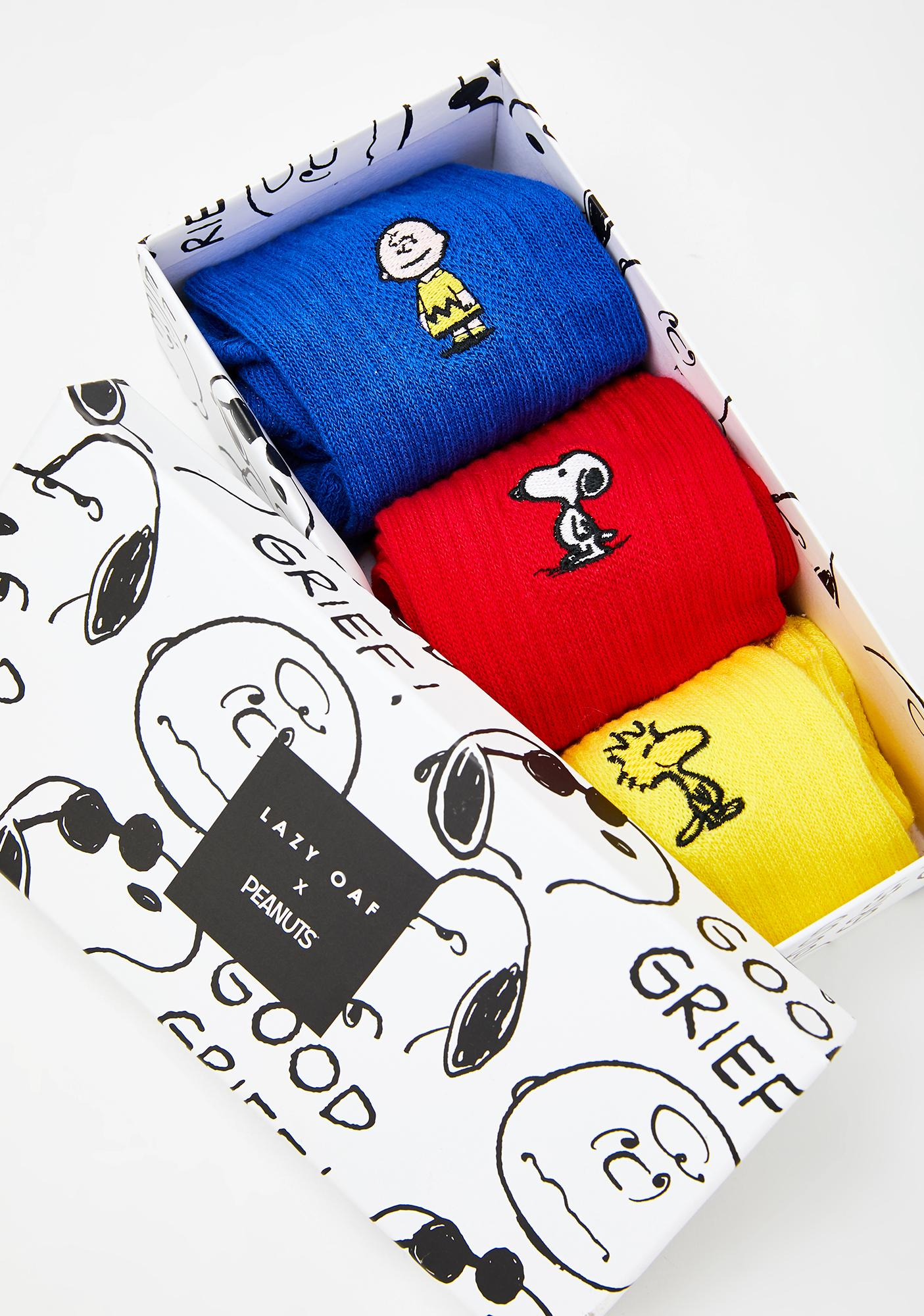 Lazy Oaf x Peanuts Sock Pack