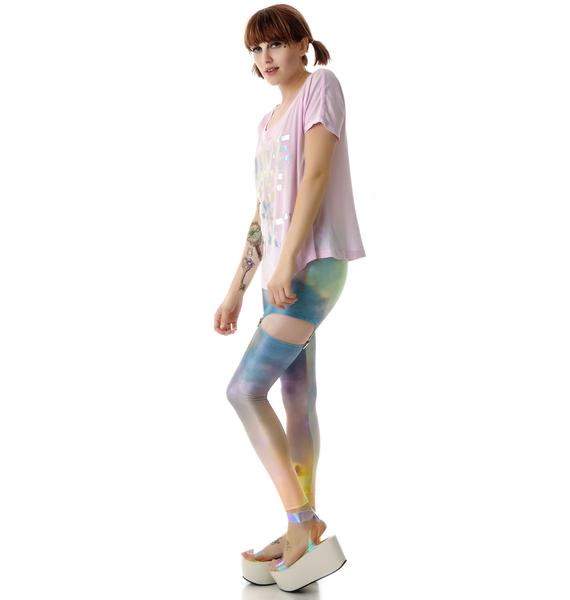 Heaven Suspender Leggings