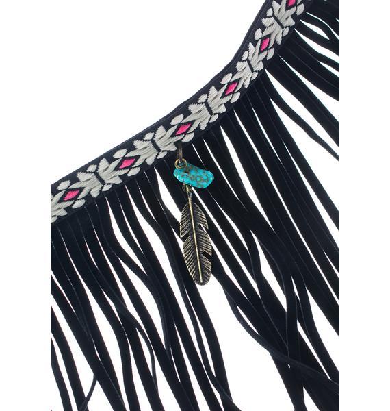 Ember Island Fringe Bracelet