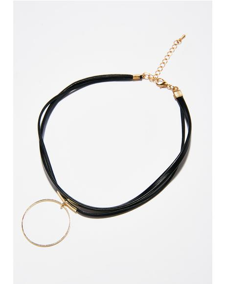 Act Out O-Ring Choker