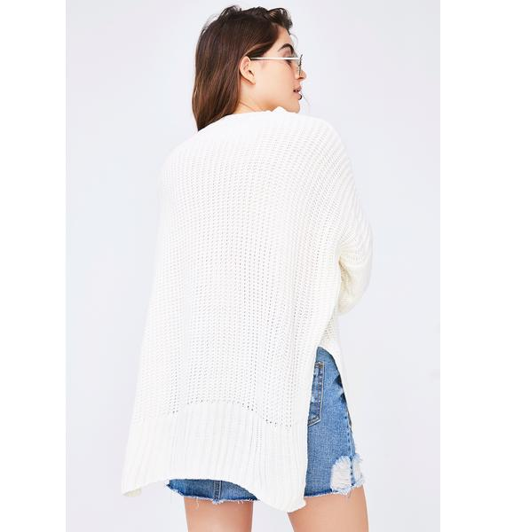 Under The Weather Knit Sweater