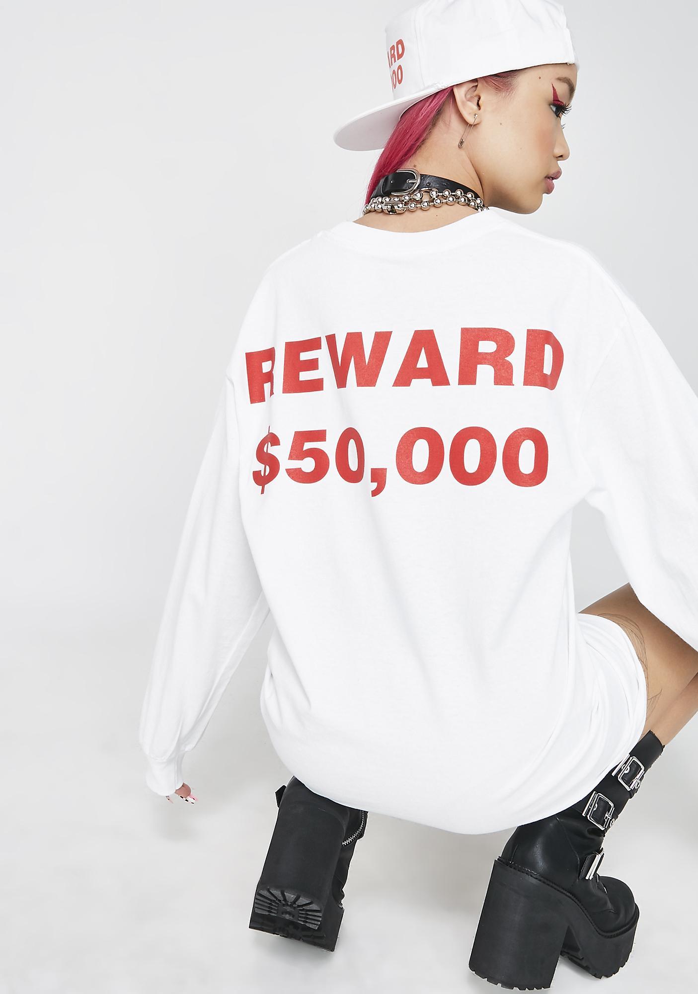 Pleasures Reward Long Sleeve T-Shirt